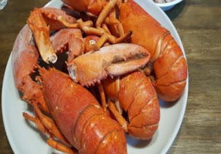 Seafood-lobster high in uric acid