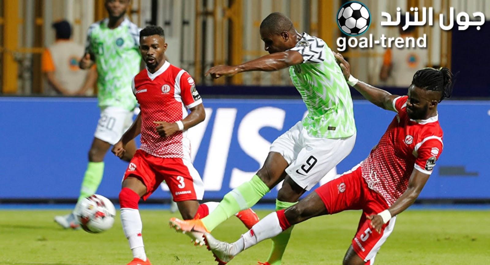 نتيجة مواجهة نيجيريا وغينيا يوم الاربعاء في كأس امم افريقيا