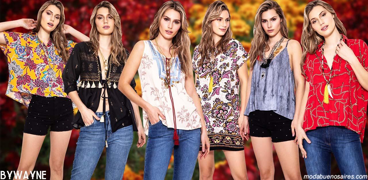 Moda primavera verano 2020 │ Ropa de moda estilo boho urbano primavera verano 2020.
