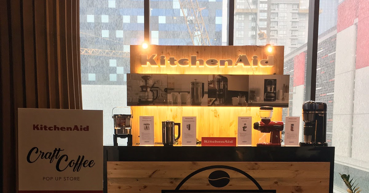KitchenAid's Craft Coffee Line: Specialty Coffee for the Modern Home Kitchen