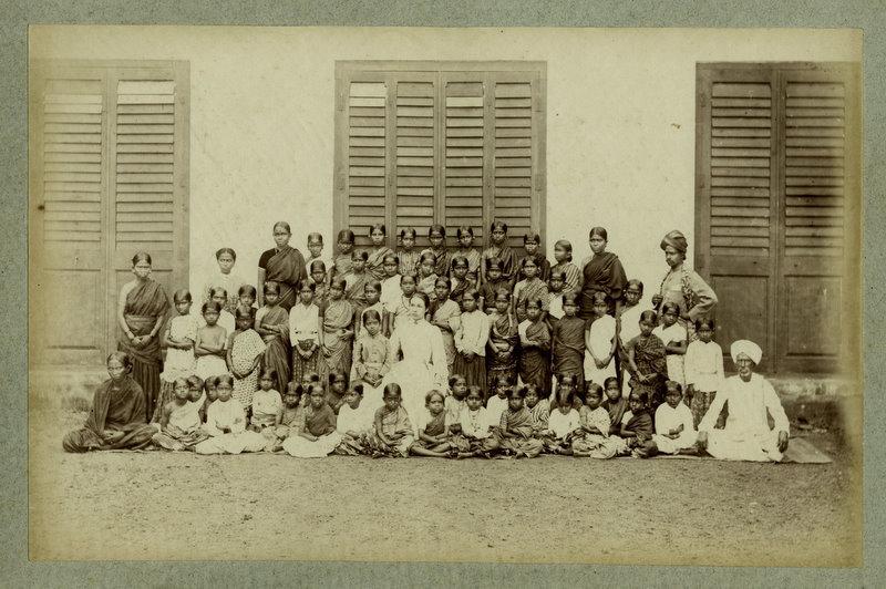Group of Indian School Children - 1880's