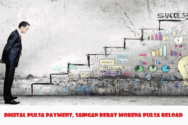 Digital Pulsa Payment, Saingan Berat Morena Pulsa Reload