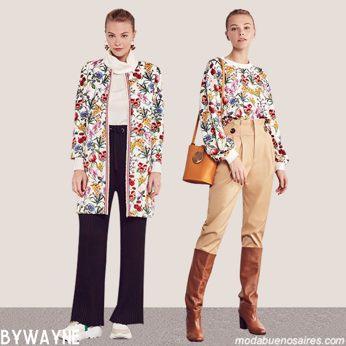Moda argentina invierno 2019 mujer │ Pantalones, blusas, sacos otoño invierno 2019.