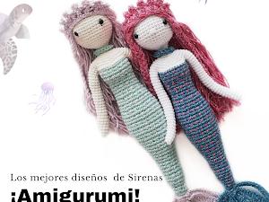 Los mejores diseños de Sirenas amigurumi