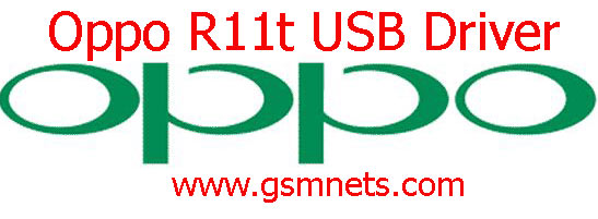 Oppo R11t USB Driver Download