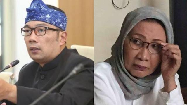 Tanggapi Video Ridwan Kamil yang Dulu Dukung Prabowo, Ratna Sarumpaet: Ini Kesempatan Bercermin