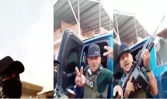 Mientras Carteles Unidos llora y bloquea caminos en Aguililla; Michoacán Sicarios del CJNG del Mencho los sigue retando y les dicen donde están para el topón