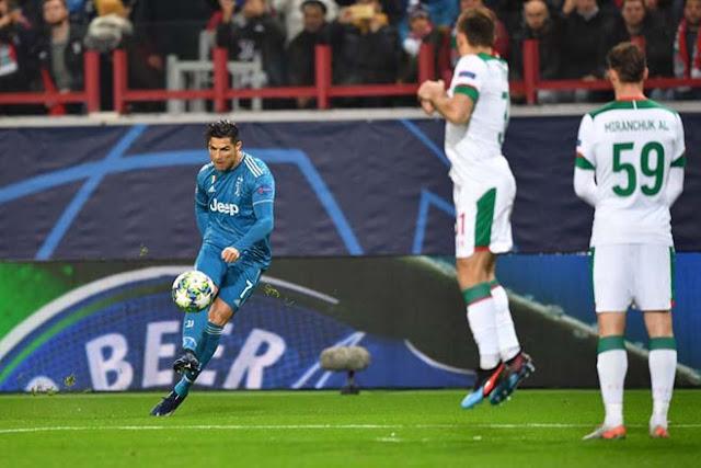 Video Lokomotiv Moscow 1-2 Juventus: Dấu ấn Ronaldo, dự bị tỏa sáng phút 90+3