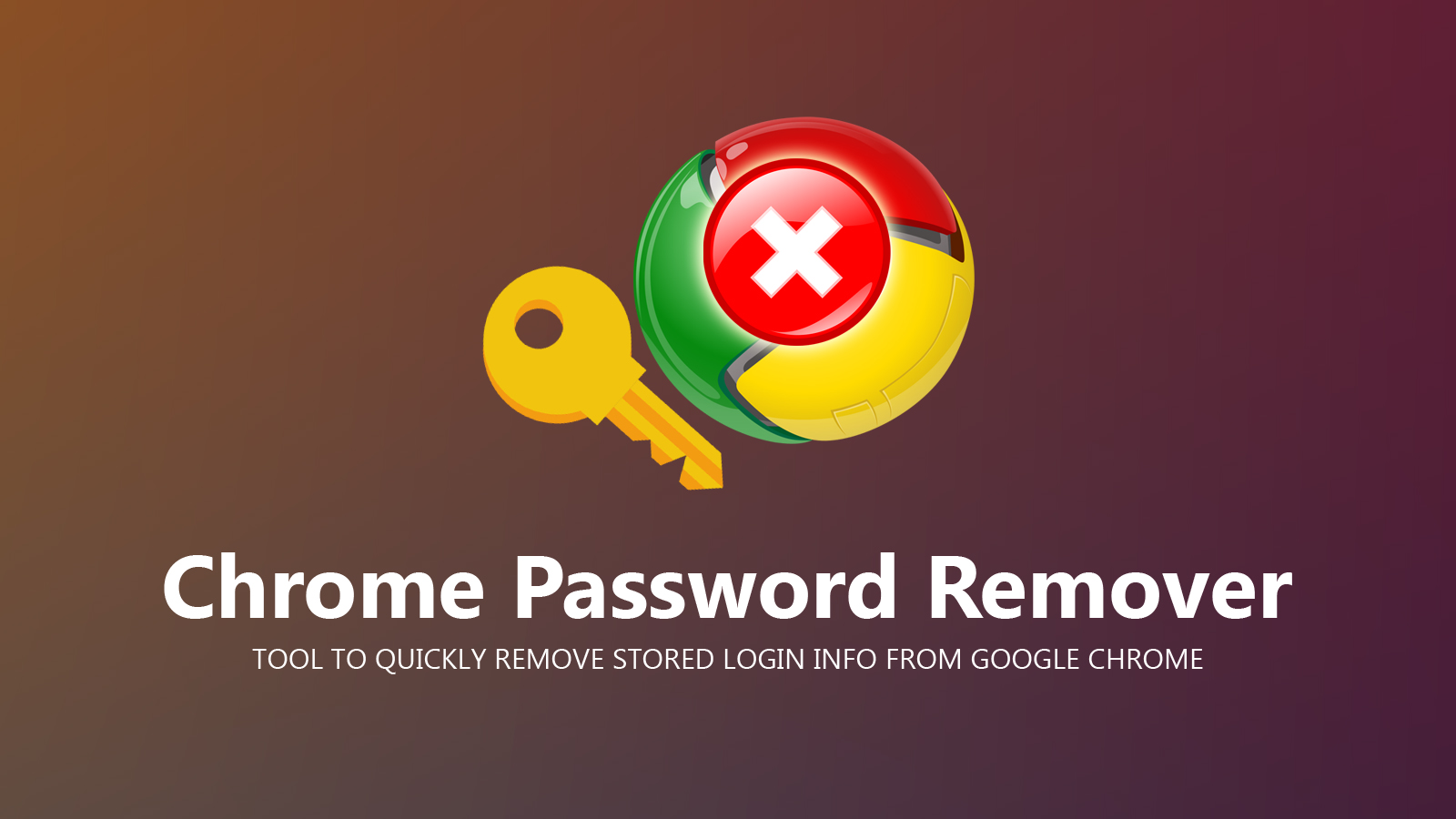 Chrome Password Remover Title Image