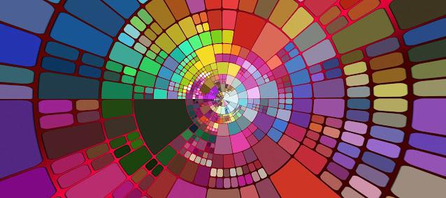 Visualize suas metas em uma panorâmica colorida