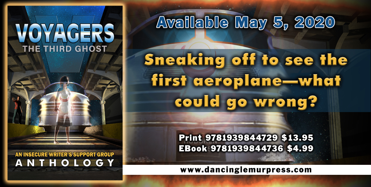 Voyagers The Third Ghost Anthology banner