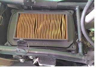 Cara Mengganti Filter Udara Yamaha new Vixion 150