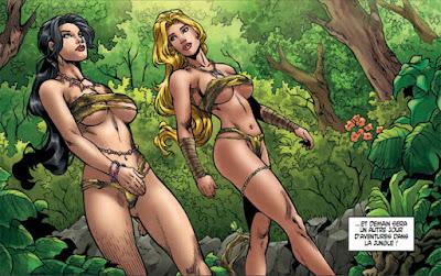 Jungle Fantasy Vixens - Kit et Lani deux héroïnes sexy qui devront survivre