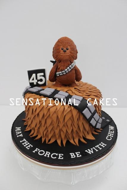 the sensational cakes cute chewbacca sugarcraft 3d cake singapore