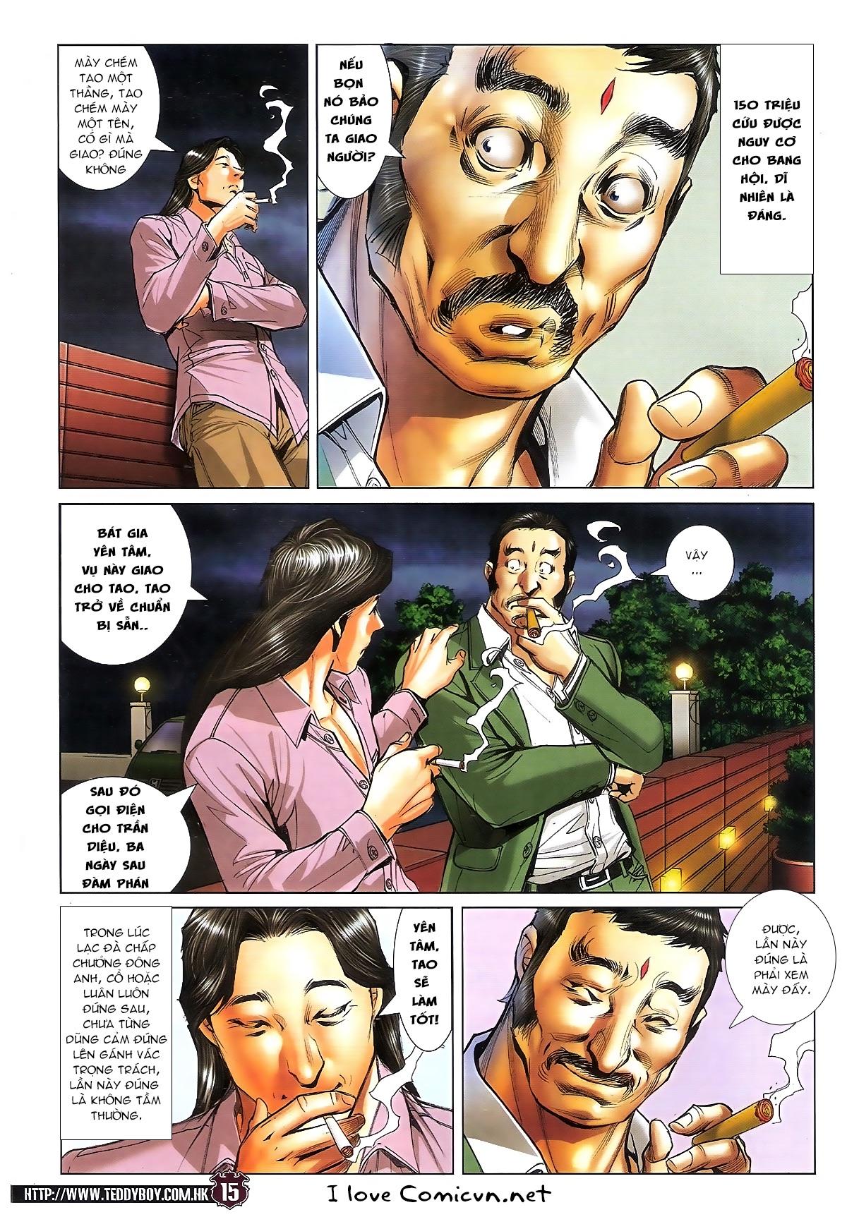 Người Trong Giang Hồ chapter 1713: yêu nghiệt trang 15