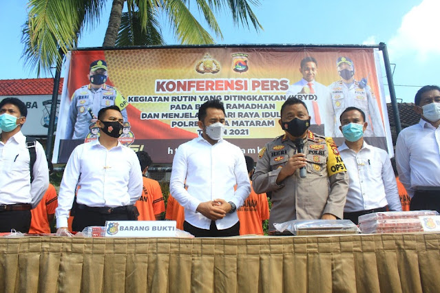 Polresta Mataram ungkap kasus terbanyak selama Ramadhan