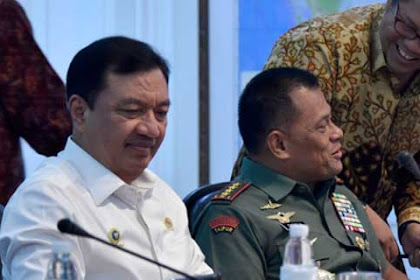 Panglima Bersuara ditengah Isu KaBIN Perintahkan Polri Beli 5000 Senjata, Ada Konflik TNI - BIN?