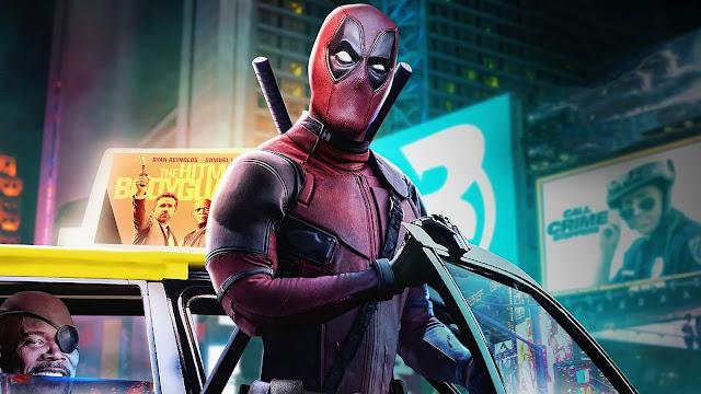 Deadpool, Cidade, Taxi, Ant-herói, Marvel