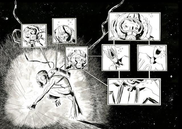 Quadrinhos | Jeff Lemire usa O Soldador Subaquático para falar sobre solidão, paternidade e medo