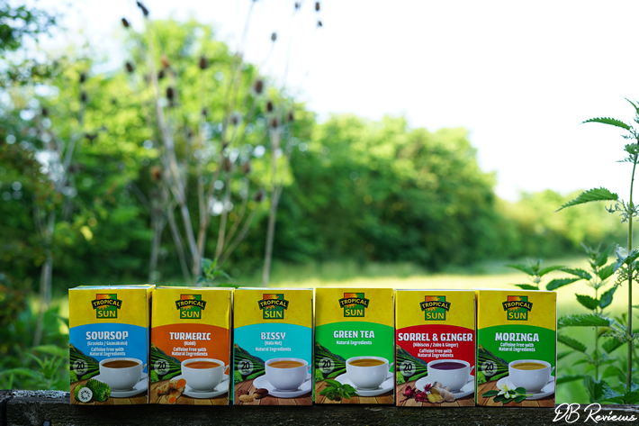 Selection of teas from Tropical Sun