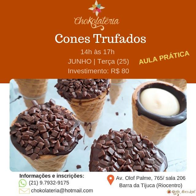 Curso - Cones Trufados - Junho 2019