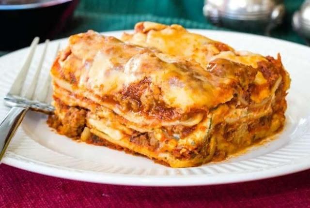 Gluten Free Lasagna #dinner #comfortfood
