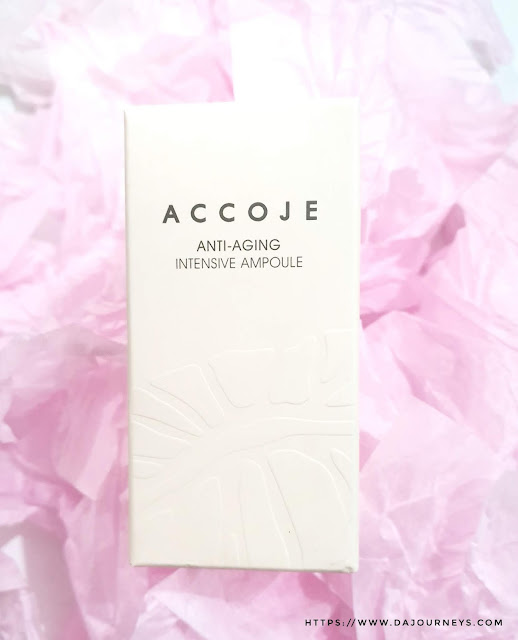 Review Accoje Anti Aging Intensive Ampoule
