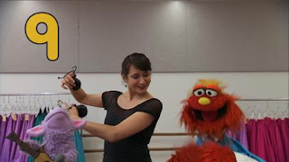 Murray and Ovejita Sesame Street sponsors number 9, Sesame Street Episode 4404 Latino Festival season 44