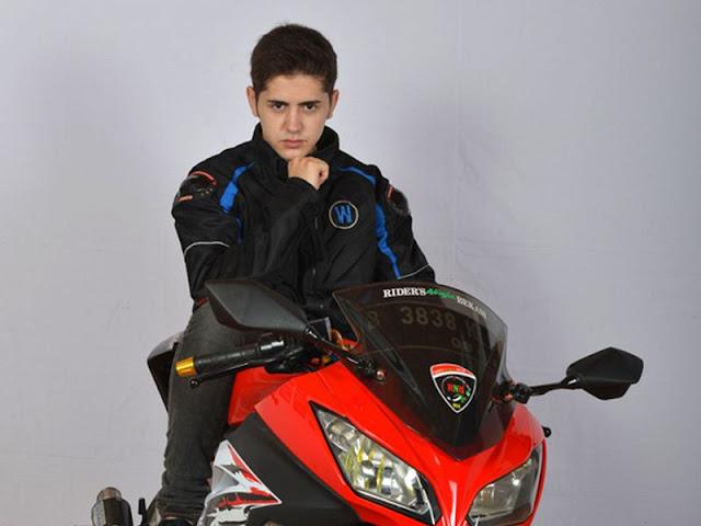 motor yang dipakai alex black cobra