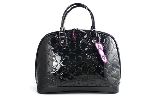 c0af5b073 Hello Kitty Monstrosity of the Day: the Embossed Patent Leather Tote Bag