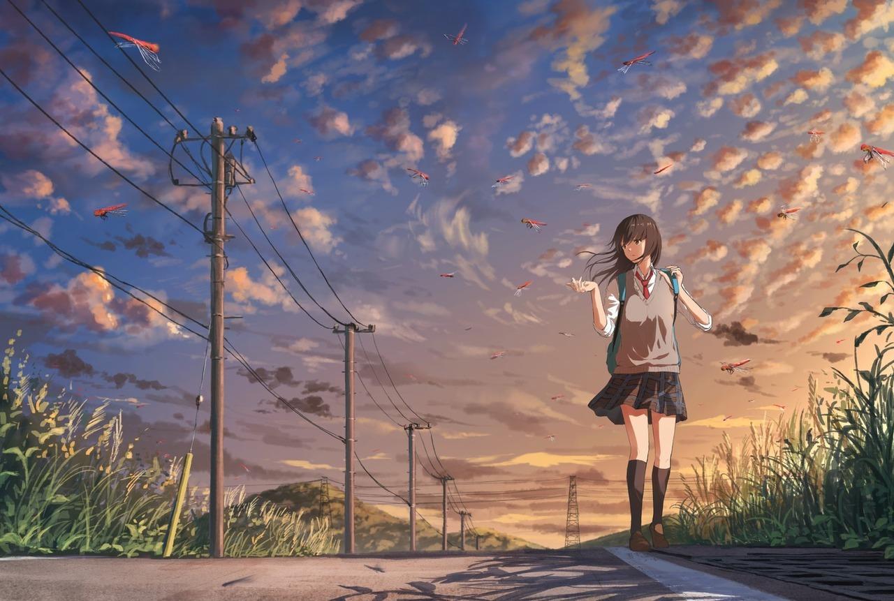 45+ Hình Nền Máy Tính Anime Buồn, Cô Đơn & Tâm Trạng Nhất Năm