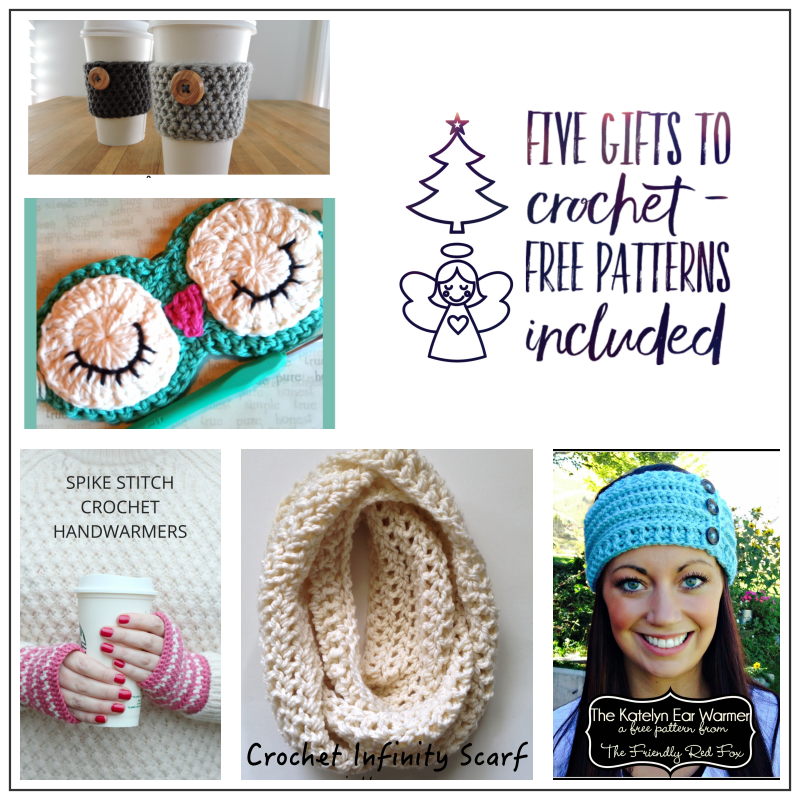 Quick Crochet Gifts for Christmas - Maria\'s Blue Crayon