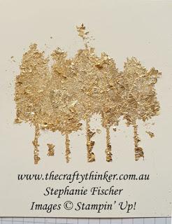 #thecraftythinker #gildedleafing #sneakpeek #2021minicatalogue #stampinup #cardmaking  ,Sneak Peek, Gilded Leafing, Tips & Tricks, 2021 Mini Catalogue, Stampin' Up Demonstrator, Stephanie Fischer, Sydney NSW