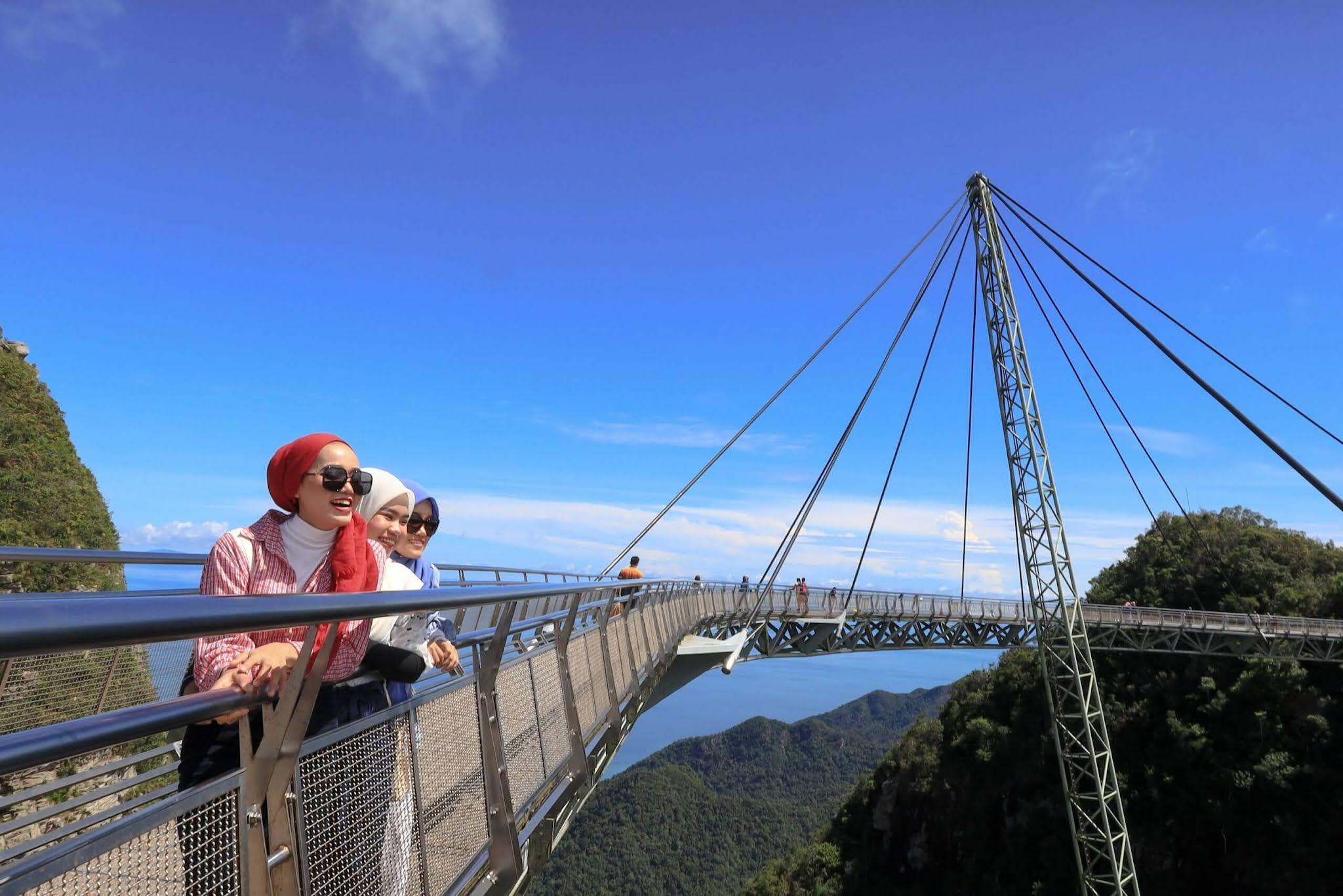 10 Tempat Menarik di Langkawi SkyBridge Langkawi