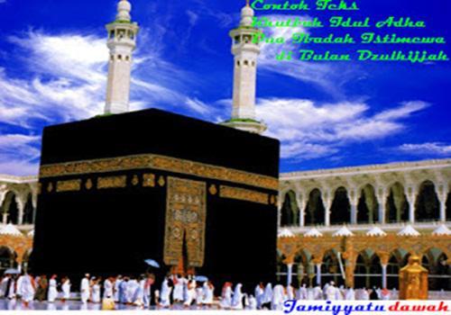 Contoh Teks Khutbah Idul Adha Singkat Dua Ibadah Istimewa