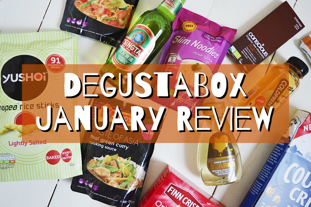 Degustabox is a monthly food subscription box which contains 9-14 foodie items, read lifestyle blogger FashionFake review of Degustabox