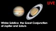The Great Conjunction Jupiter And Satrun