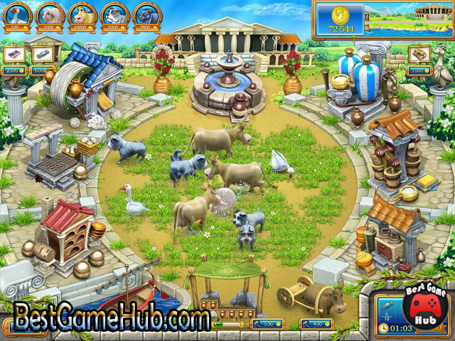 Farm Frenzy Ancient Rome Torrent Game Free Download