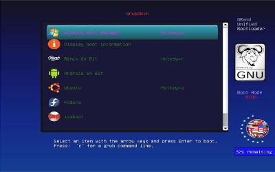Grub2Win - Logiciel de Double Démarrage (Boot) sur Windows