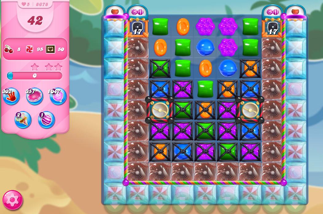 Candy Crush Saga level 8678