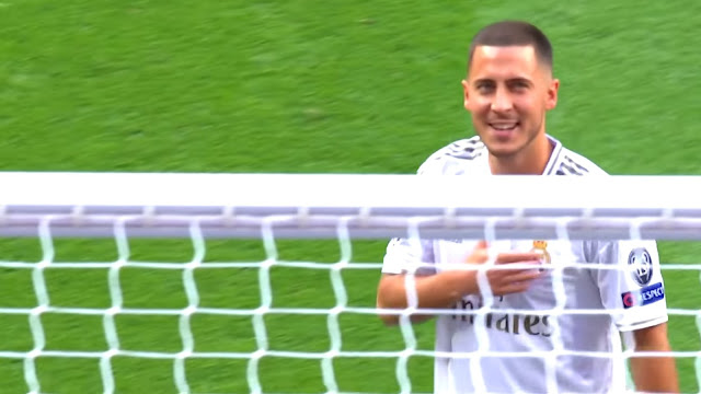 Missed opportunity deprives Hazard of his first European goal with Real Madrid