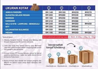 Jasa Pengiriman Barang Dari Malaysia ke Indonesia