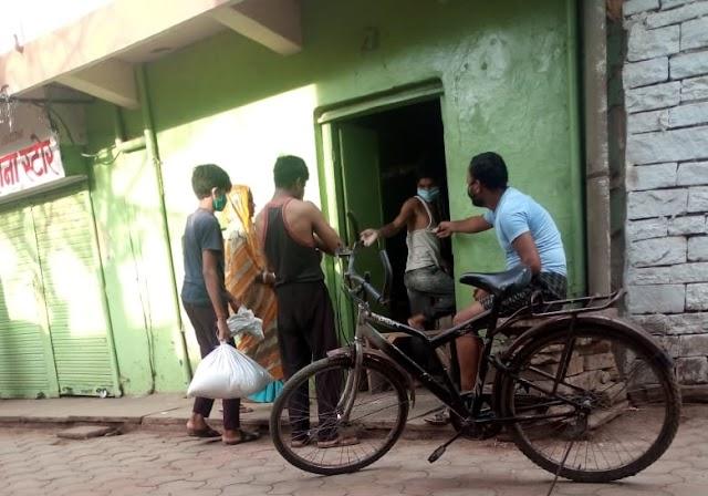 शिवपुरी: नगर में दुकानदार लॉकडाउन का कर रहे उल्लंघन, उड़ रही नियम की धज्जियां