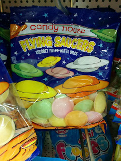 Flying Saucers - Sherbet Filled Wafer Discs