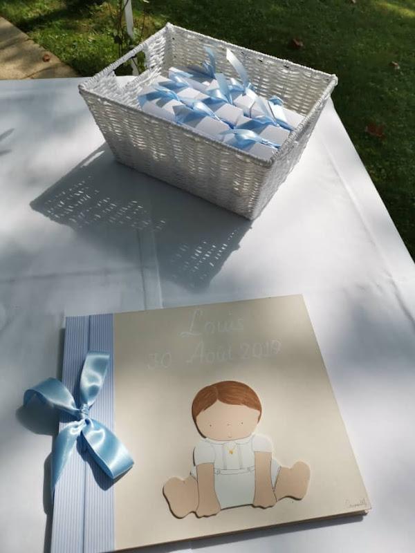 álbum fotos -marcapáginas-recordatorios-bautizo-bebé