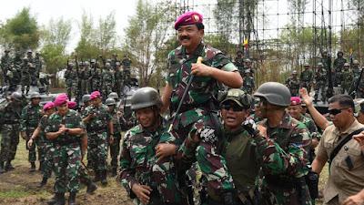 Panglima TNI : Prajurit Marinir Harus Siap Dengan Perubahan dan Beradaptasi Pada Tuntutan Zaman