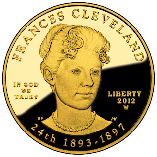 US Gold Coins Frances Cleveland Second Term 10 Dollars First Spouse Gold Coin
