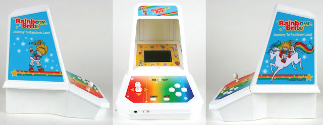 Coleco Brightens Our World With a New Rainbow Brite Mini-Arcade Game