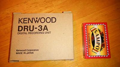Kenwood DRU-3A äänitallennin