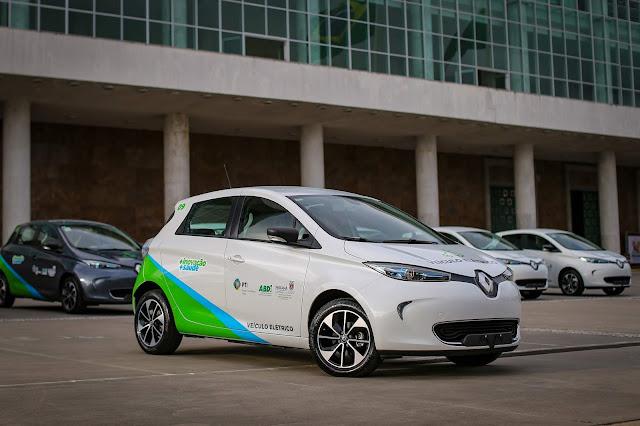 Renault Zoe passa a ser usado pelo Governo do Paraná